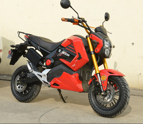2018 BOOM E-Vader 2000W Brushless 72V Electric Motorcycle - BD578Z