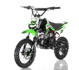 DB-35 Apollo Dirt Bike vitacci 125cc roketa Green