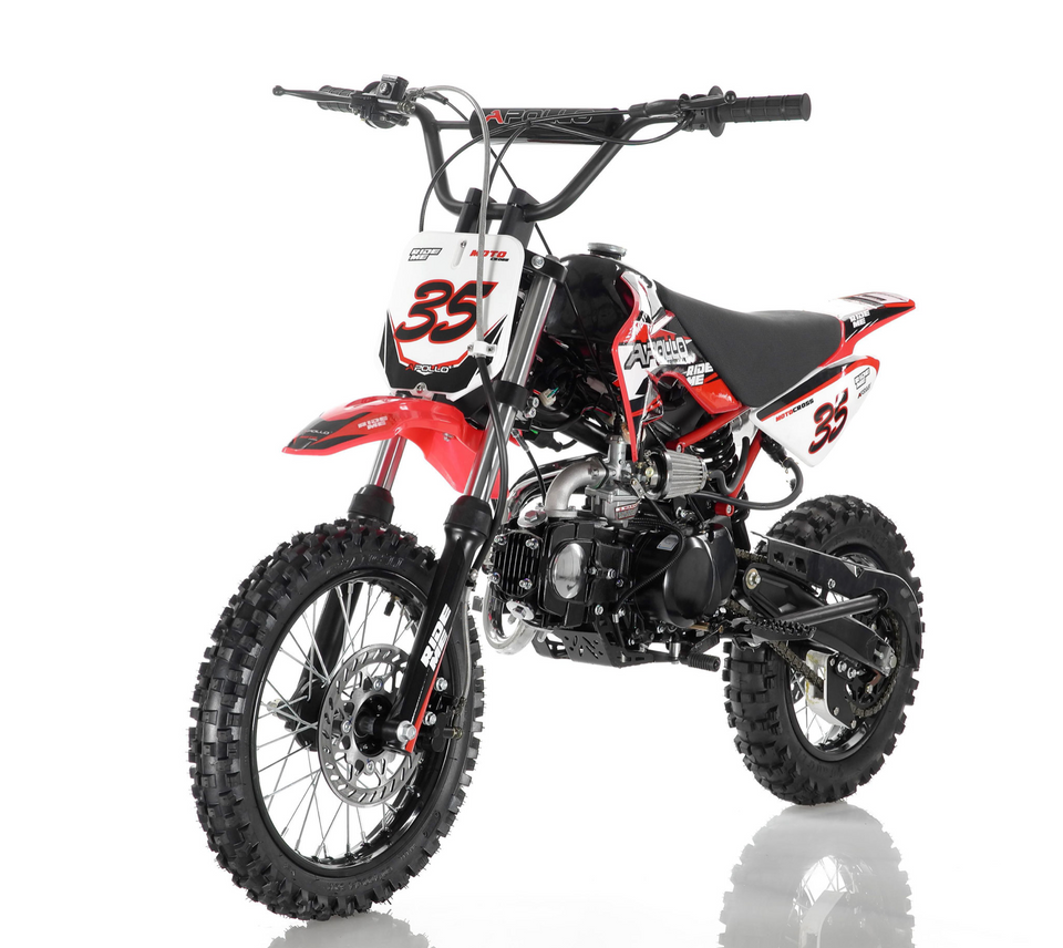 DB-35 Apollo Dirt Bike vitacci 125cc roketa Red