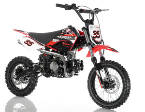 Apollo 125cc Sport Motocross Dirt Bike - 4-Speed Manual  DB-35