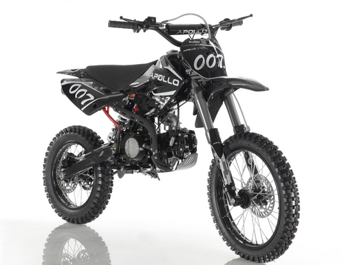 DB007 DB-007 apollo dirt bike vitacci roketa motocross pit bike black
