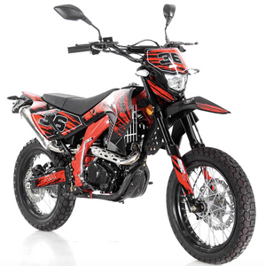 DB-34 deluxe apollo dirt bike street legal 250cc red