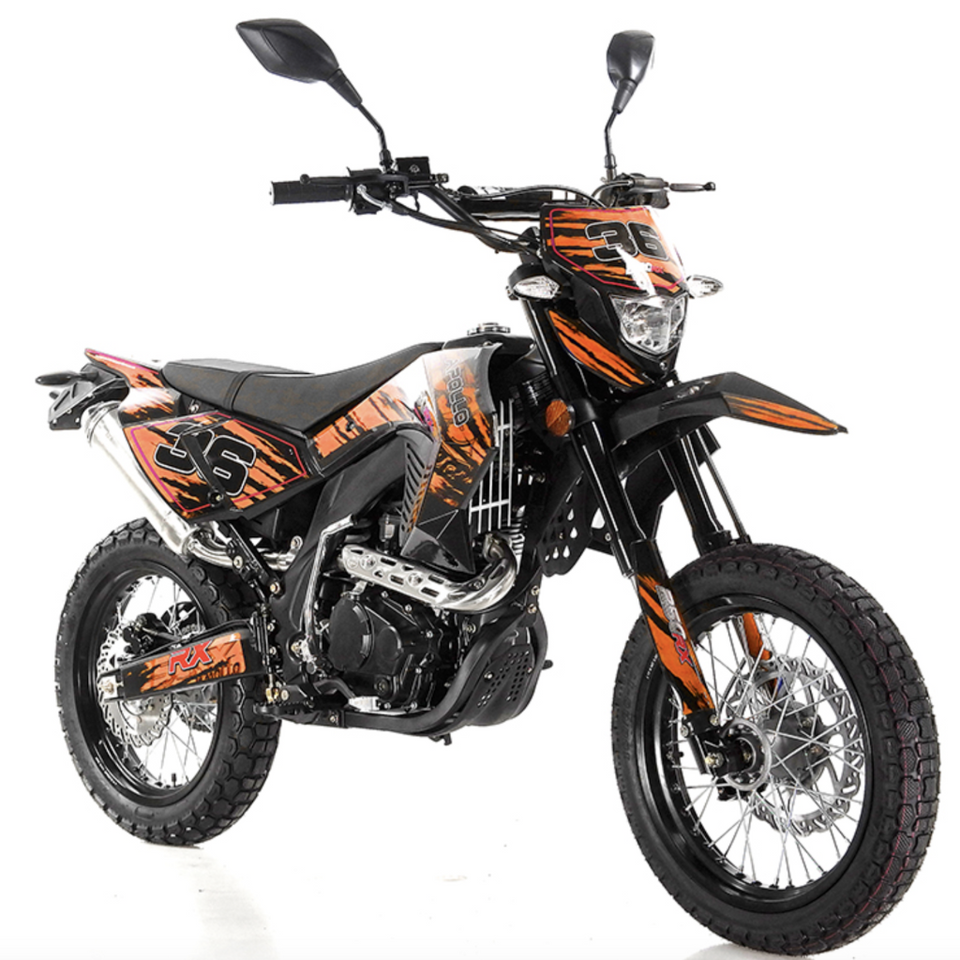 buy apollo 250cc street legal motocross dirt bike db 36. Black Bedroom Furniture Sets. Home Design Ideas