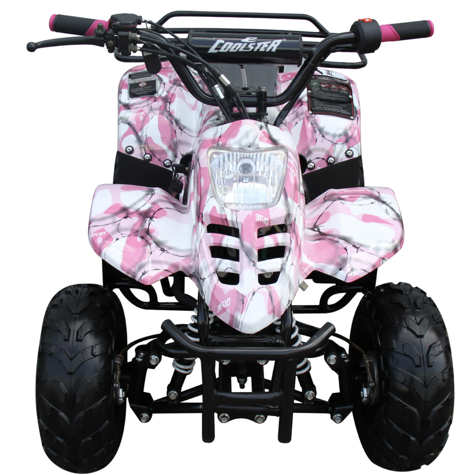 Pink ATV for kids Coolster 110cc ATV-3050C 4 wheeler for kids free shipping