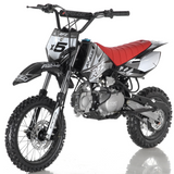 DB-x5 125cc manual transmission apollo dirt bike pit bike motocross vitacci motorcycles black