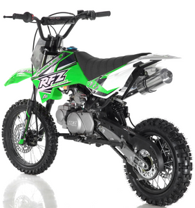 Apollo RFZ Motocross 125cc Dirt Bike Sport - 4-Speed Manual DB-X5