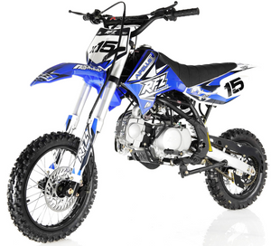 Apollo RFZ Motocross 125cc Dirt Bike Sport - 4-Speed Manual DB-X15