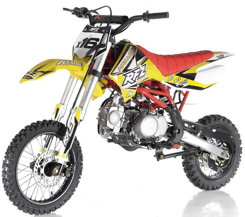 Apollo RFZ Motocross 125cc Dirt Bike Sport - Automatic Transmission DB-X16