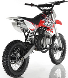 APOLLO RFZ MOTOCROSS 125CC DIRT BIKE - 4-SPEED MANUAL DB-X18