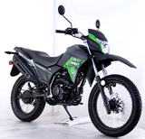 Green Lifan 200cc Dirt bike LF200GY-4