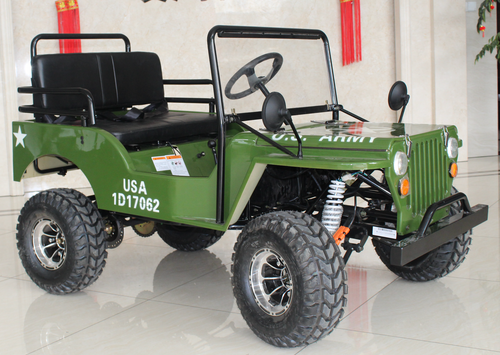 2019 Willy's EGL Army 125cc Mini Jeep UTV - JP125-1