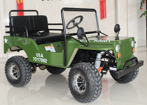 2019 EGL US Army 125cc Mini Jeep UTV - JP125-1