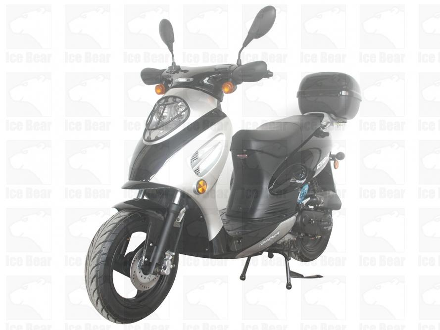 PMZ50-1 icebear moped 49cc scooter