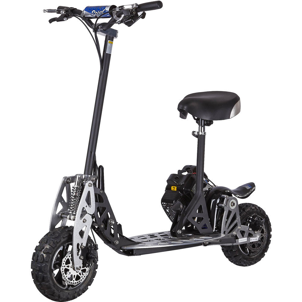 Premium 50cc Gas Power Uberx Scooter Board with Seat- 2 Speed ...