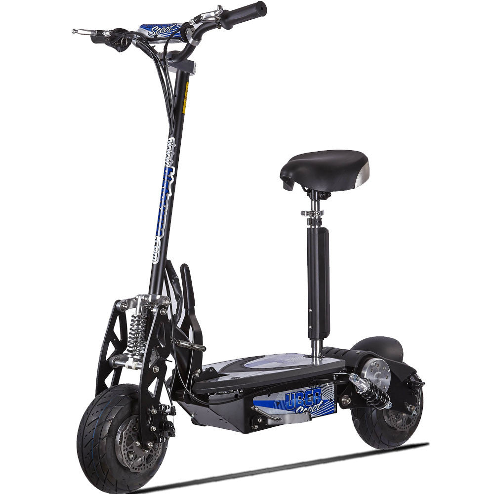 Scooter With Seat >> Premium 1000 Watt Uberx 36 Volt Electric Scooter Board Seat