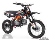 2020 Apollo X37 125cc Dirt Bike - Motocross Sport | 4-Speed Manual