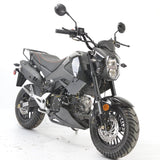 BD125-15 boom motorcycle Honda grom clone front view black