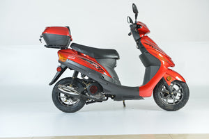 2020 Boom 49cc MVP Moped Scooter Street Legal - BD50QT-9A