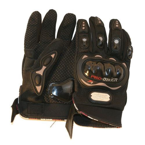 Motorcycle Sport Racing Gloves Black