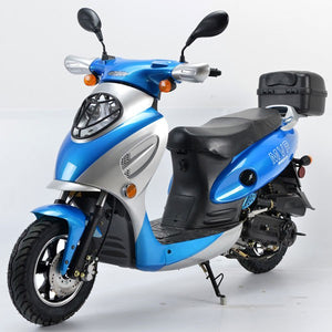 2017 Boom 49cc MVP Moped Scooter Street Legal - BD50QT-2A