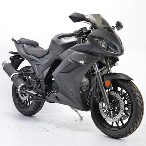 2019 Boom Ninja SR9 125cc Full-Size Motorcycle - Street Legal