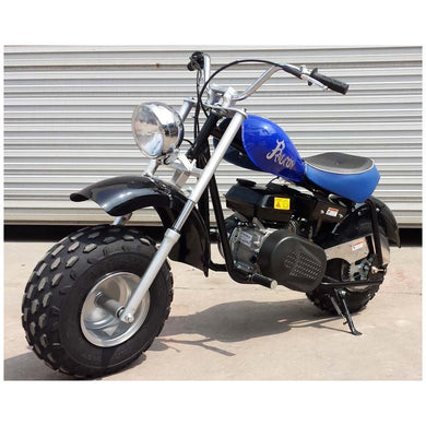 Falcon 200CC Mini Chopper Motorcycle Bike w/ Fat Tires | HS200Y-A