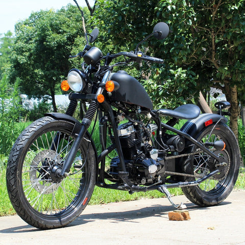 250CC Premium Bobber Mini Chopper Motorcycle Street Legal DF250RTB