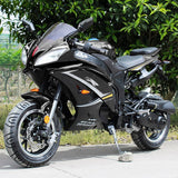 Ninja 200cc Street Legal Motorcycle - Fully Automatic - DF200SST