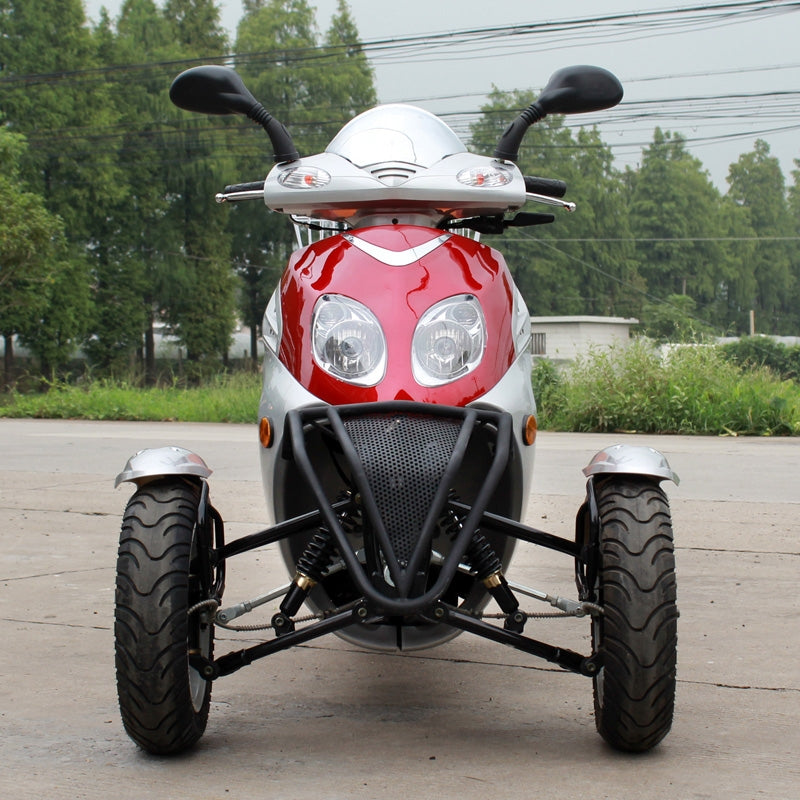 DF50TKA Trike Scooter California Legal - 50cc
