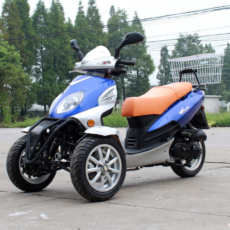 DF50TKA 50cc Trike moped scooter DF50TKC dongfang trike scooter