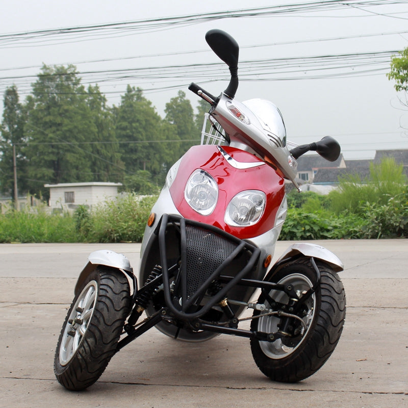DongFang 50cc moped trike scooter GY6 motor DF50TKA