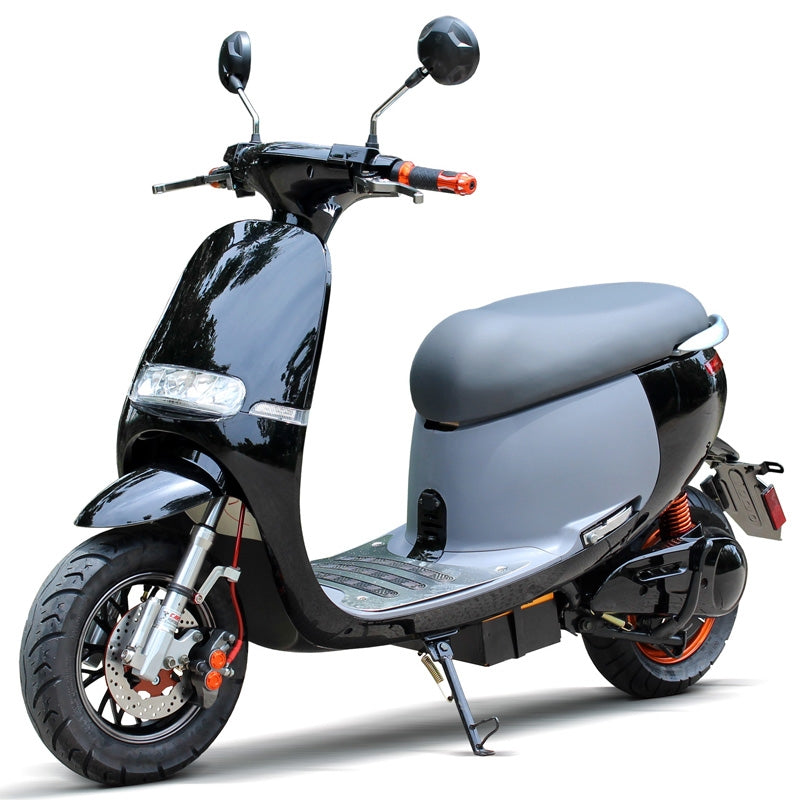 Electric Moped Scooter >> Buy Sta 1000e 1000w Moped Scooter Electric Cirkit Led 72v Two Seater