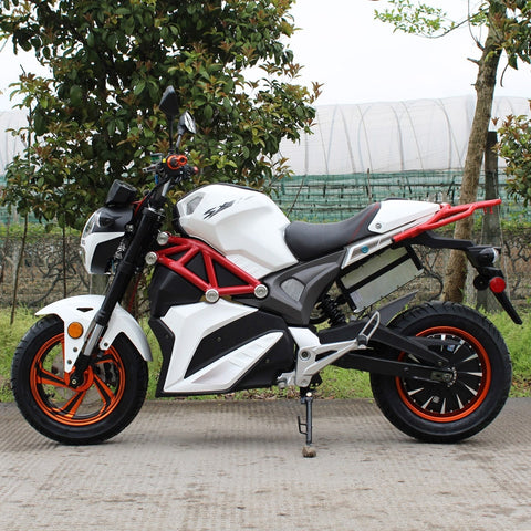 2000W Brushless 72V Electric Motorcycle SRT-2000E - Street Legal