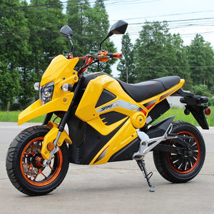 Swift-E 2000w Electric motorcycle STT Dongfang yellow