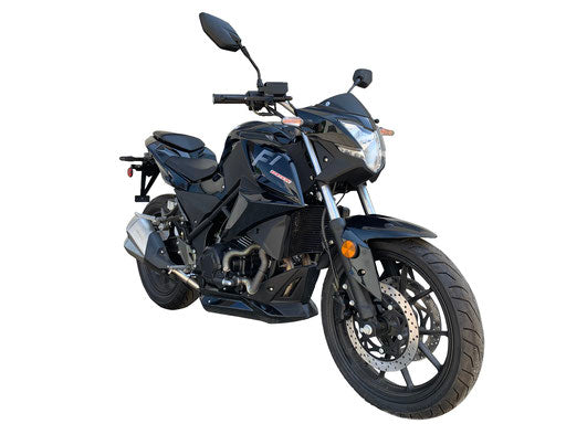 Viitacci 350cc Motorcycle YN250T-6 250cc GTO Bike Yongfu manufactured bike - Black