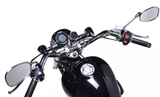 Lycan motorcycle 250cc Chopper cruiser lifan dash view