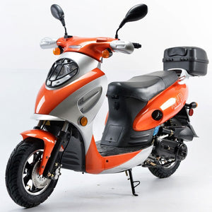 Boom 49cc MVP Moped Scooter Street Legal - BD50QT-2A
