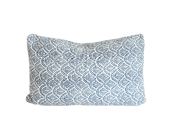 Indigo Devī Kantha Pillow Cover