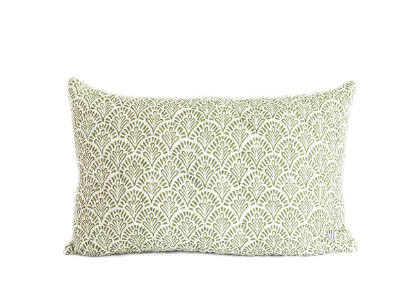 Sage Devī Kantha Pillow Cover