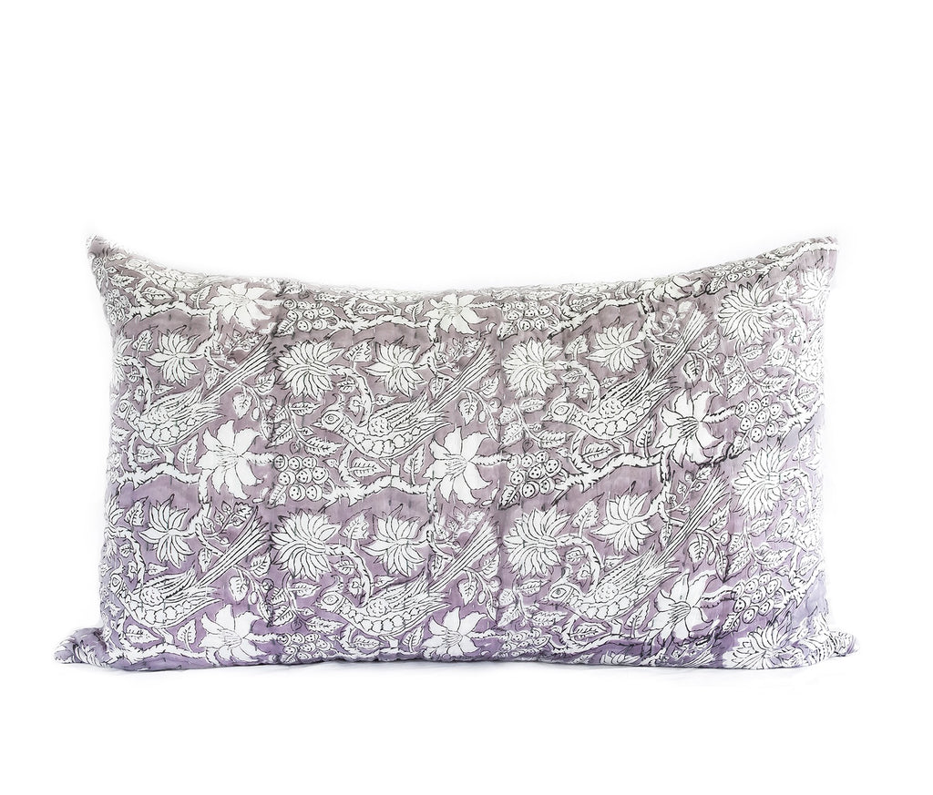 Dusk Kantha Pillow Cover