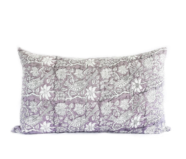 (SECONDS) Dusk Kantha Pillow Cover