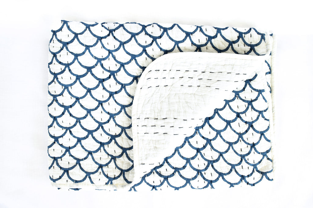 Mini Kantha- Merman