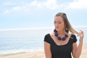 Cooling Necklace - Purple