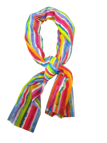 Cooling Scarf - Rainbow - COOLING BALLS INCLUDED!