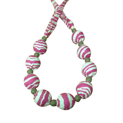 Cooling Necklace - Pink Zebra   (quantities are limited)