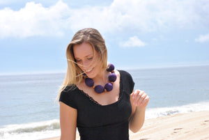 Cooling Necklace - Light Purple
