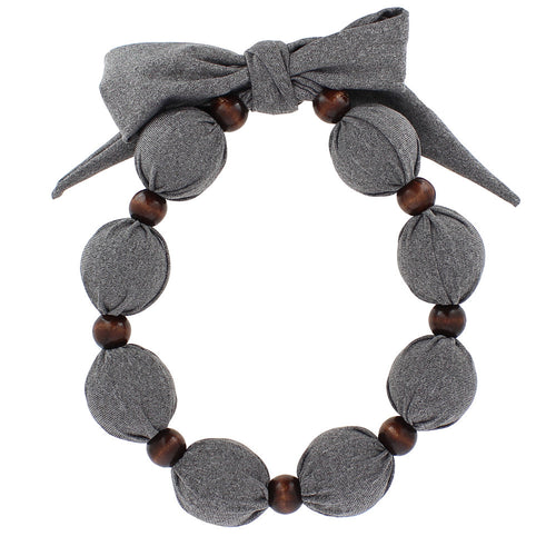 Cooling Necklace - Solid Color Grey