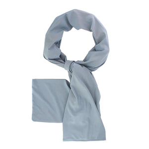Cooling Scarf Grey - COOLING BALLS INCLUDED!