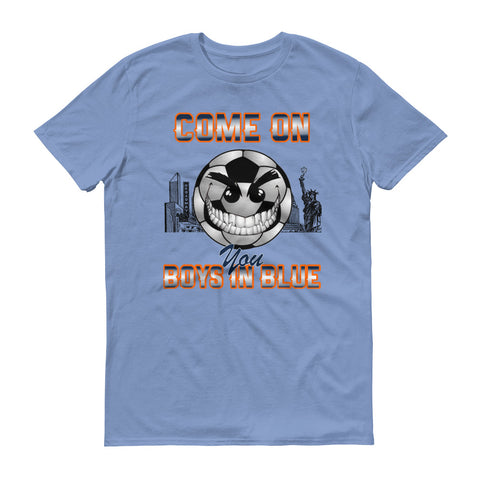 Come On, You Boys In Blue Tee - Men's