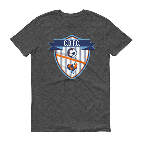 Chicken Bucket Pinstripe Crest Tee - Men's